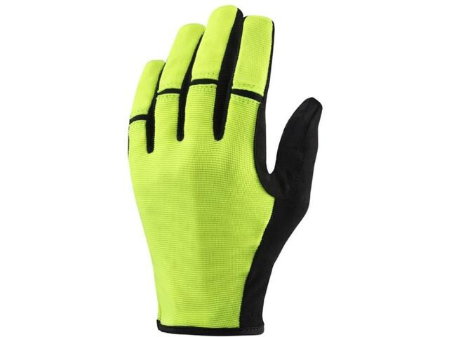Mavic Essential LF Shell Gloves Men Safety Yellow
